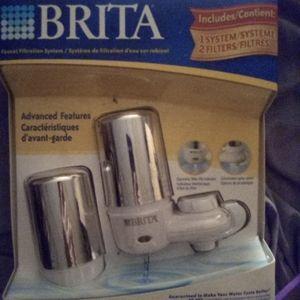Brita Faucet Filtration System